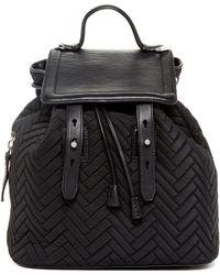 Mackage - Tanner Nylon & Leather Backpack - Lyst