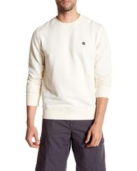Timberland - Long Sleeve Crew Neck Pullover - Lyst