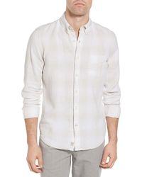 Timberland - Mill River Plaid Linen Sport Shirt - Lyst