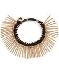 Treasure & Bond - Treasure&bond Fringe Bracelet - Lyst