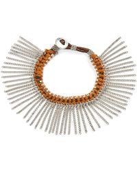 Treasure & Bond - Treasure&bond Fringe Bracelet - Lyst