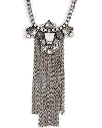 Treasure & Bond - Fringe Necklace - Lyst