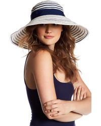 Tommy Bahama | Striped Ribbon Sun Hat | Lyst