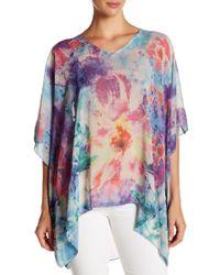 Sienna Rose | V-neck Kimono Blouse | Lyst