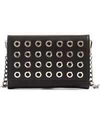 Phase 3 - Grommet Faux Leather Cross-Body Bag - Lyst