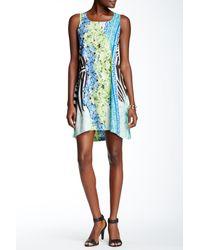 Sienna Rose - Printed Sleeveless Dress - Lyst