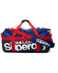 Superdry - Trainer Tarp Kit Travel Bag - Lyst