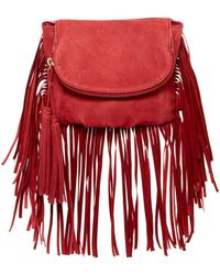 Cynthia Vincent - Autumn 2 Leather Fringe Crossbody - Lyst