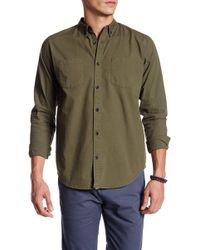 ourCaste - Kenmare Long Sleeve Shirt - Lyst
