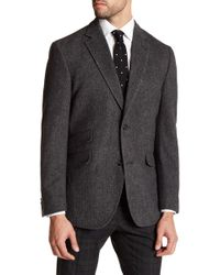 Kroon - Grey Herringbone Jacket - Lyst