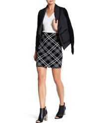 Grayse - Plaid Mini Skirt - Lyst