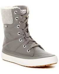 Keds - Juliet Faux Fur Lined Boot - Lyst