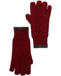 Joe Fresh - Rib Knit Fleece Lined Glove - Lyst