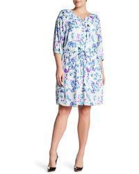 NYDJ - Alexa Pleat Back Dress (plus Size) - Lyst