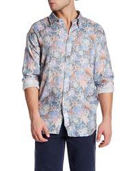 Michael's Swimwear - Floral Linen Shirt - Lyst