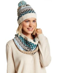 Rampage - Multicolor Scarf & Beanie Set - Lyst