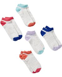 Joe Fresh - Ankle Socks - Pack Of 5 - Lyst