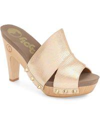 Flogg - 'sammy' Studded Platform Sandal (women) - Lyst