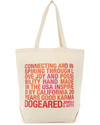 Dogeared - De Birthday Tote - Lyst