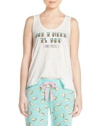 Cozy Zoe - All I Need Is You Graphic Racerback Tank - Lyst