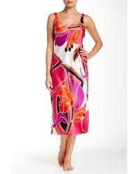 N Natori - Printed Gown - Lyst