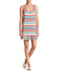 Blush Lingerie - Candy Cane Sleeveless Cover Up - Lyst