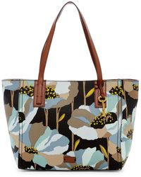 Fossil - Emma Floral Tote - Lyst