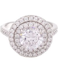 Savvy Cie Jewels - Stacked Halo Cocktail Ring - Lyst