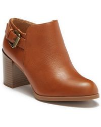 831572c8bf7 Naturalizer - Harley Block Heel Bootie - Wide Width Available - Lyst