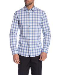 Michael Kors - Plaid Classic Fit Shirt - Lyst