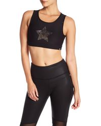 X By Gottex - Chrome Star Sports Bra - Lyst