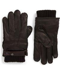 Nordstrom - Leather Gloves - Lyst