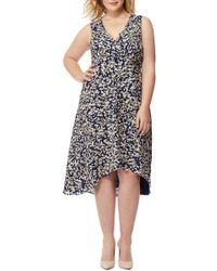REBEL WILSON X ANGELS - Print Hi-lo Dress (plus Size) - Lyst