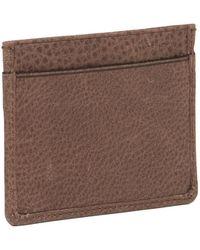 Belstaff - Leather Credit Card Holder - Lyst
