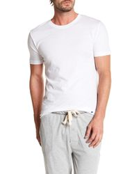 Lucky Brand - Slim Fit Crew Neck Tee - Pack Of 3 - Lyst