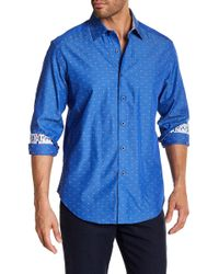 Robert Graham - Mounds View Colorblock Print Woven Regular Fit Shirt - Lyst