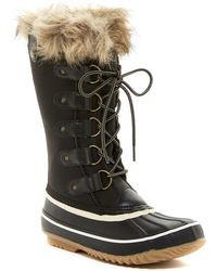 Jambu - Edith Faux Fur Trimmed Weather Ready Boot - Lyst