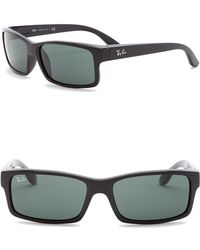 Ray-Ban - Men's Rectangle 59mm Sunglasses - Lyst