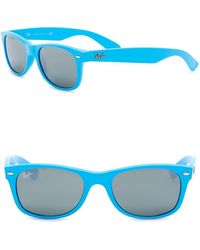 b47453b6c48 Lyst - Ray-Ban Men s Phantos Icons 47mm Round Sunglasses in Metallic ...
