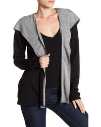 Cable & Gauge - Layered Front Zip Jacket - Lyst