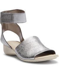 The Flexx - Beglad Leather Ankle Strap Sandal - Lyst