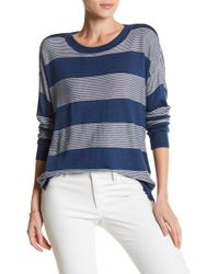 Olive & Oak - Stella Long Sleeve Stripe Sweater - Lyst