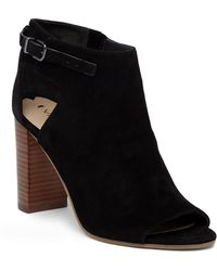 Via Spiga - Guiliana Open Toe Bootie - Lyst