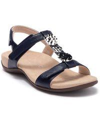Vionic Farra Orthaheel(r) Sandal (women) - Blue
