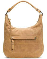 Frye - Melissa Large Leather Hobo Bag - Lyst