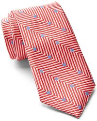 Ted Baker - Chevron Dot Silk Tie - Lyst
