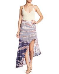 Young Fabulous & Broke - Kylie Hi-lo Skirt - Lyst