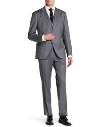 BOSS - Johnston Solid 3-piece Suit - Lyst