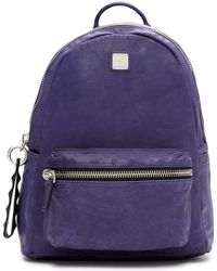 MCM - Lush Leather Tumbler Backpack - Lyst