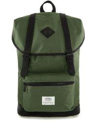 TOPMAN - Explorer Flap Top Backpack - Lyst